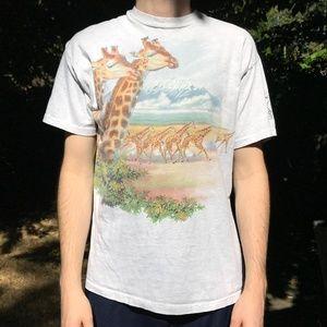 Other - Vintage Giraffe/Kilimanjaro Graphic T-shirt